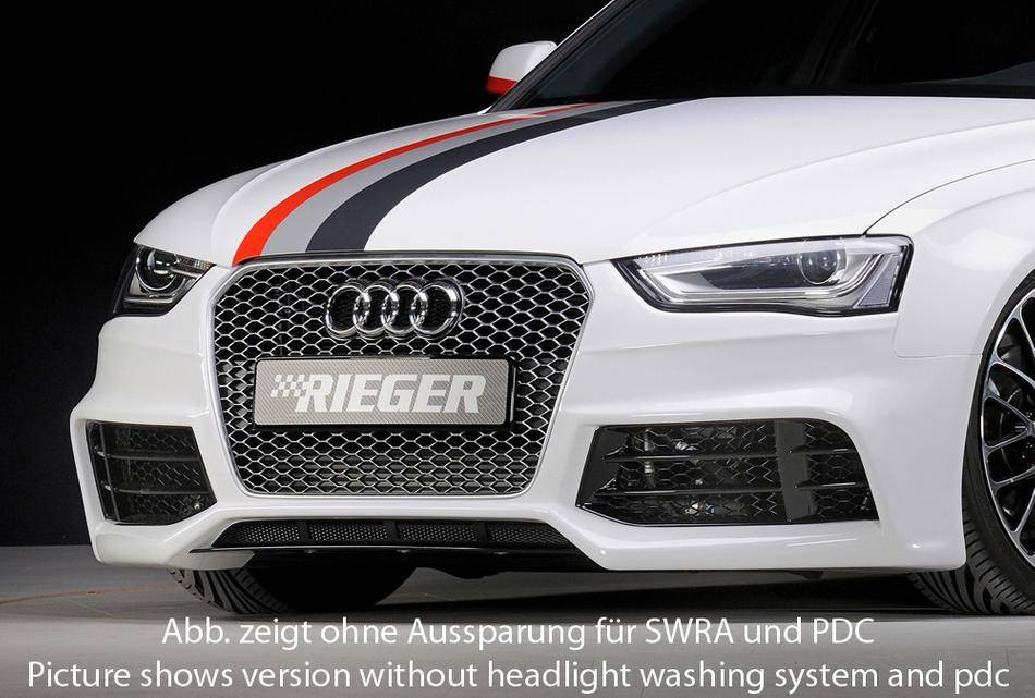 Paraurti ant RS-Style Audi A4 B8 restyling dal'12 con PDC+lavafari